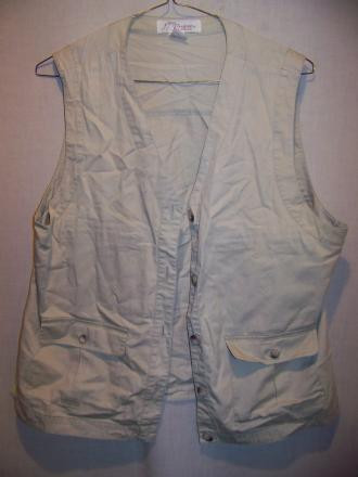 Norm Thompson Cotton Travel Vest, WM XLarge