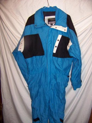 Inside Edge One Piece Snow Ski Suit Onesie, Men's Large