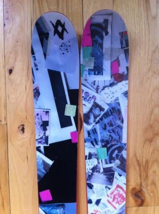 2009 Volkl Bridge skis, size 185cm