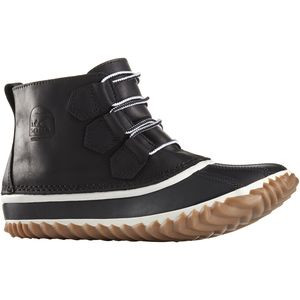 Out 'N About Leather Boot - Women's Black/White, 6.5 - Good