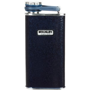 Classic Flask - 8oz Hammertone Navy, One Size - Ex