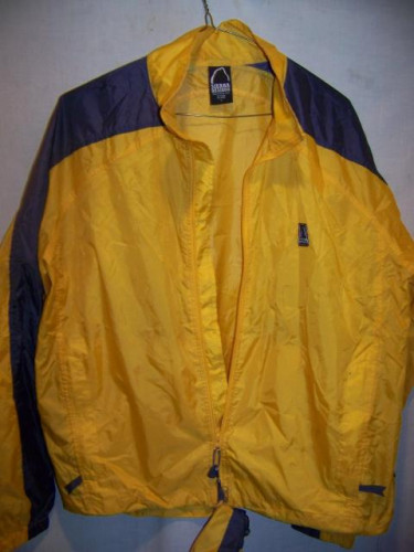 Sierra Designs Stuffable Windbreaker Jogging Jacket, Mens Large