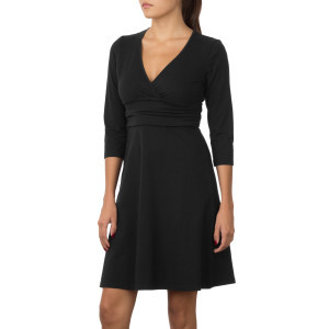 Margot Dress - Long-Sleeve - Women's Black, XL - E