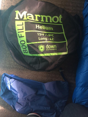 Marmot Helium 15 Sleeping Bag - Long