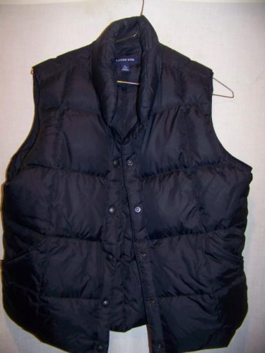 Lands End Down Vest, WM Large 14-16