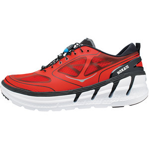 Conquest Running Shoe - Men's Fiery Red/Black/Silv