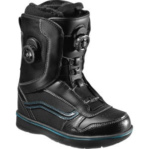 Aura Boa Snowboard Boot - Women's Black/Blue, 7.0