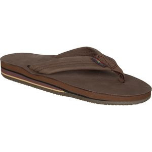 Premier Leather 302 Sandal - Women's Expresso, M - Excellent