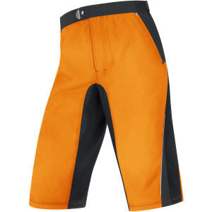 Fusion Trail Shorts - Men's Vibrant Orange/Black,