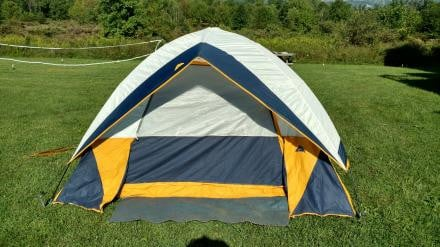 3-4 person tent, excellent condition