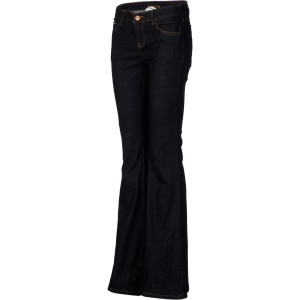 Jagger Flare Denim Pant - Women's Dark Rinse, 3 -