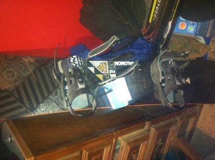 Salomon snowboard and more