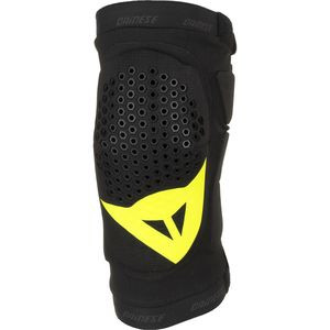 Trail Skins Knee Guards Black/Yellow Fluo, M - Excellent