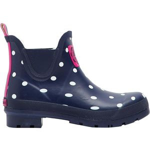 Wellibob Boot - Women's Navy Spot, US 8.0/UK 6.0 - Excellent