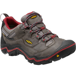Durand Low WP Hiking Shoe - Women's Magnet/Red Dahlia, 10.5 - Good