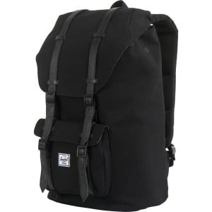 Little America Canvas Backpack - 1434cu in Black,