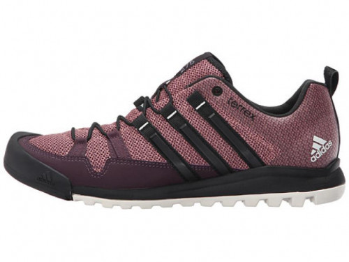 ADIDAS TERREX SOLO APPROACH SHOE - WOMEN'S 8.5  MINERAL RED/BLACK/RAW