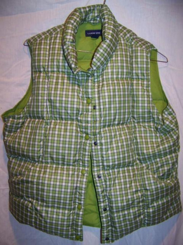 Lands End Down Vest, Women's Large 14-16