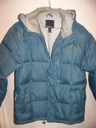 American Eagle Down Jacket Coat Parka, Medium