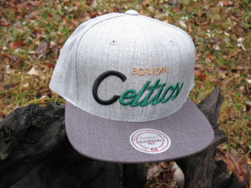 New Mitchell and Ness Boston Celtics Cap