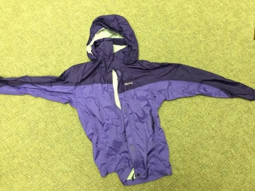 Marmot Rain Jacket, Youth XL, purple