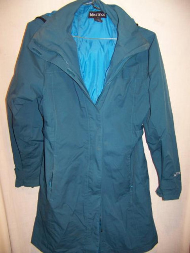 Marmot Membrain Waterproof Rain Parka Jacket, Women's Medium