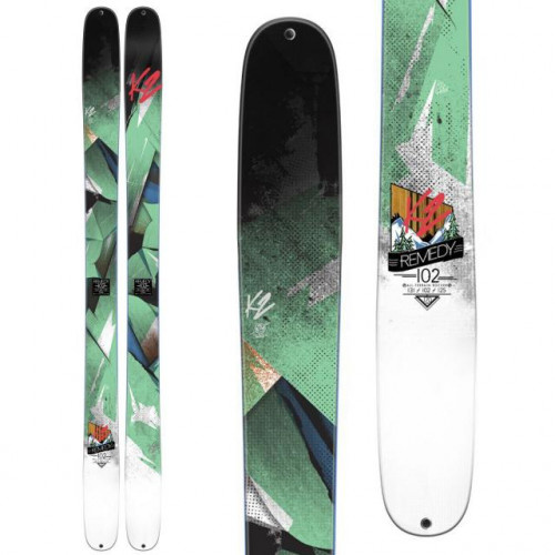 2015 K2 REMEDY 102 ALPINE SKI FLAT LDS