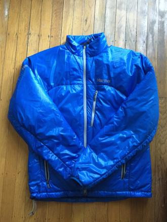 Men's Marmot Baffin Jacket (Blue, Medium)