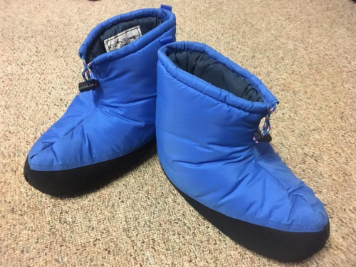 PARBAT HIGH MOUNTAINEERING Polar Guard Insulated Booties Blue Size Med