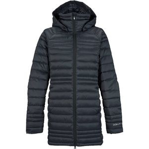 AK Long Baker Down Jacket - Women's True Black, M - Good