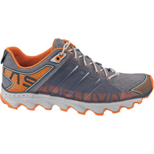 Helios Trail Running Shoe - Men's Grey/Orange, 46.