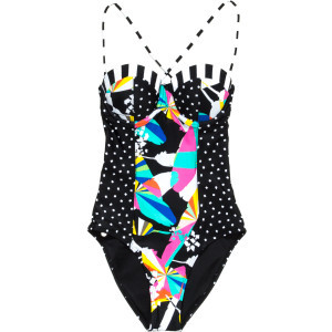 Reality Bites One-Piece Swimsuit - Women's Multi,