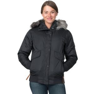 Sparrow Hawk Down Bomber Jacket - Women's Black, L - Excellent