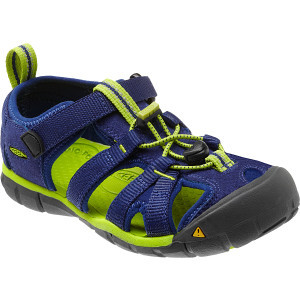 Seacamp II CNX Sandal - Boys' Blue Depths/Lime Gre