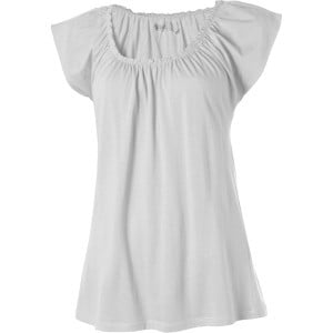 Sanibel Top - Short-Sleeve - Women's White, M - Ex