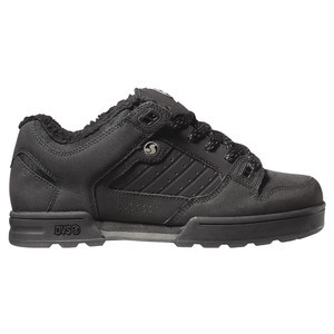 Militia Snow Skate Shoe - Men's Black/Grey Leather