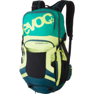 FR Enduro Team Protector Hydration Pack Green/Lime
