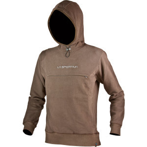 Bishop Hoodie Fleece Pullover Jacket - Men's Brown