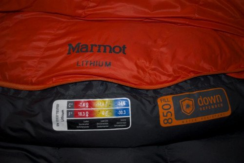 Marmot Lithium Sleeping Bag