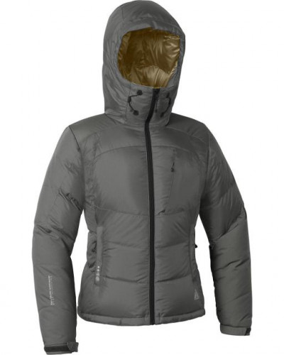 NWT First Ascent Peak XV Jacket Womens L Slate