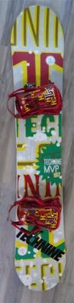 Technine MVP Snowboard 157 and Bindings