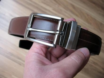Perry Ellis Reversible Leather Belt