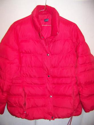 Lands End Puffy Down Coat Jacket, XLarge