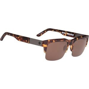 Malcolm Sunglasses - Happy Lens Soft Matte Camo Tort - Happy Bronze, O