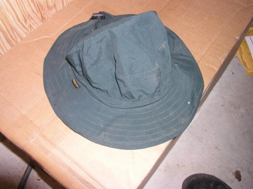 Green Goretex Cabellas Hat (one size fits all)