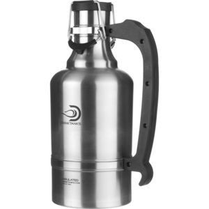 128oz Wide-Mouth Growler Stainless, One Size - Excellent