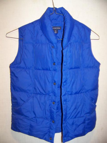 Lands End Down Vest, Womens Small 7-8