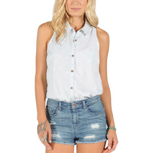 Killjoy Tank Top - Women's Chambray, S - Like New