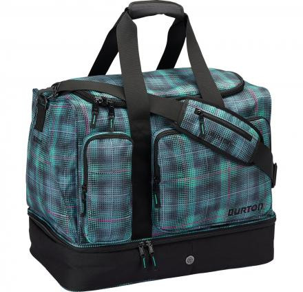 NEW Burton Rider's Bag-Boot Locker Digi Plaid