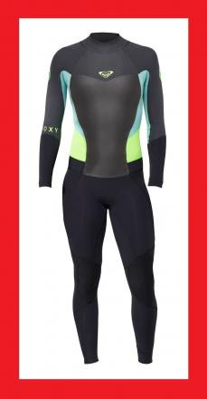 Roxy Syncro 3/2mm Women's billabong Wetsuit - Blac